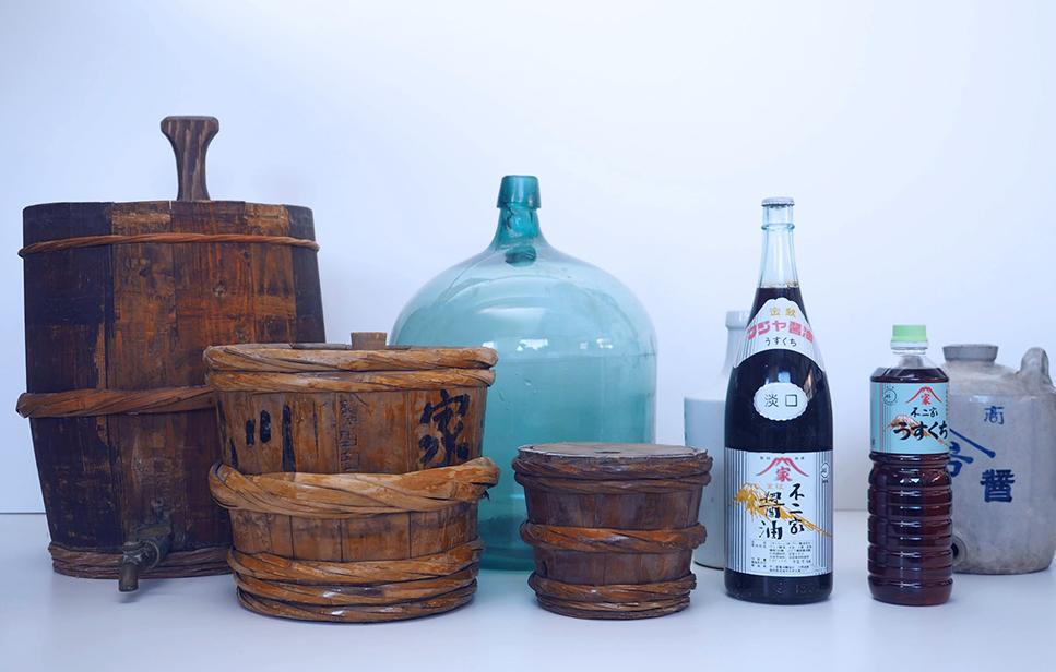 醤油の保存容器の歴史